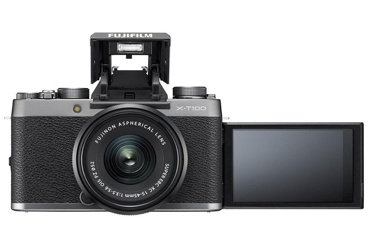 Fujifilm X-T100 + XC15-45mmPZ Appareil Numérique Argent 4