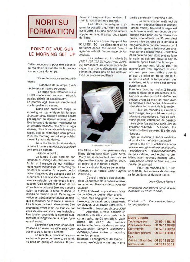 Newsletter Noritsu Info Page 4