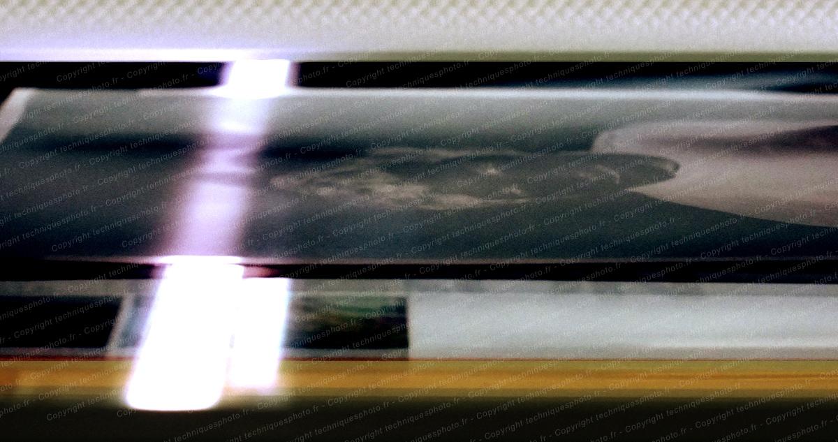 Scanner d'un négatif avec une tablette