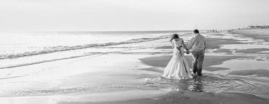 Reportage mariage en Noir et Blanc