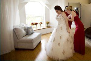 Reportage mariage, photo à l'intérieur