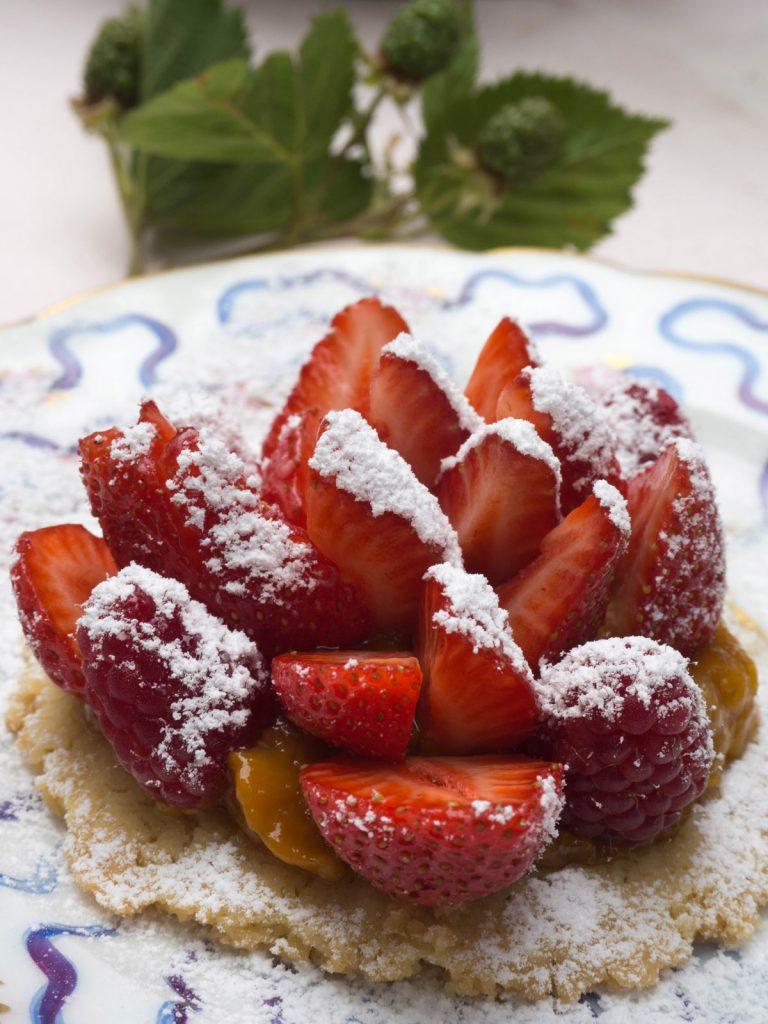 Photo culinaire les fraises