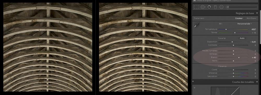 Comment améliorer les hautes lumières d'une photo ?