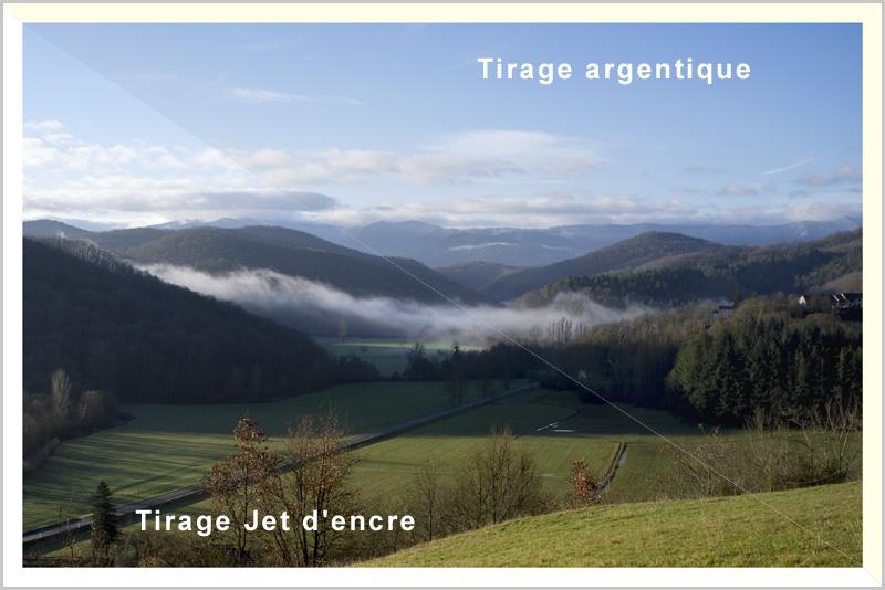 Argentique et Jet d'encre : les différences