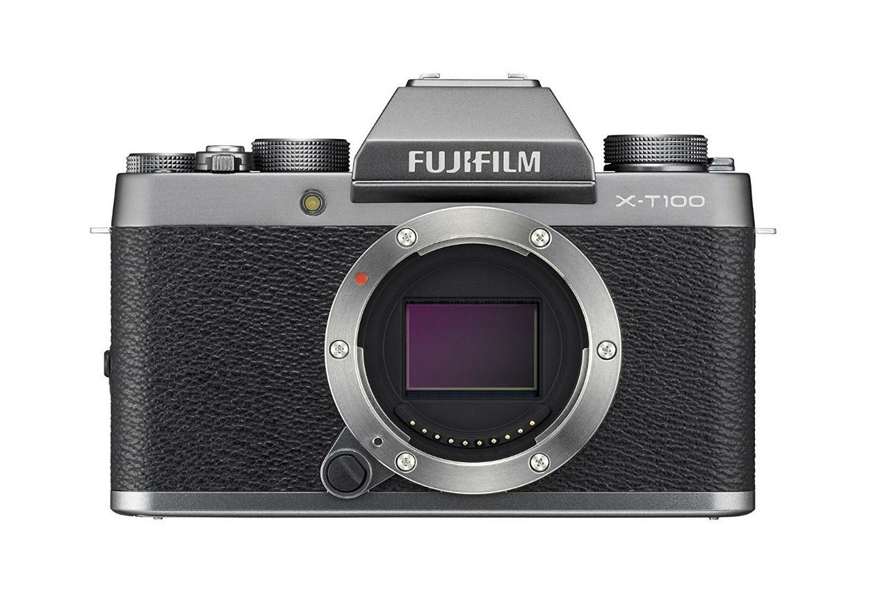 Fujifilm X-T100 boîtier nu Appareil Numérique Argent 5