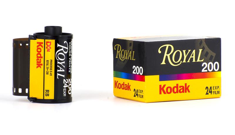 Film kodak Royal