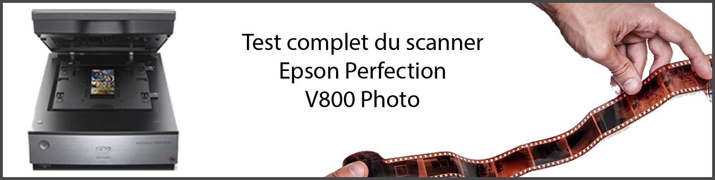 Test du scanner Epson V800